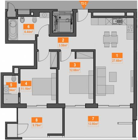 14c apartment plan