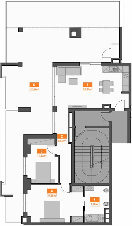15a apartment plan